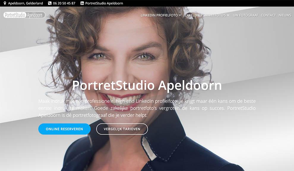 nieuwe website portretfotograaf